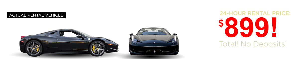 Las Vegas Exotic Car Rental - Ferrari