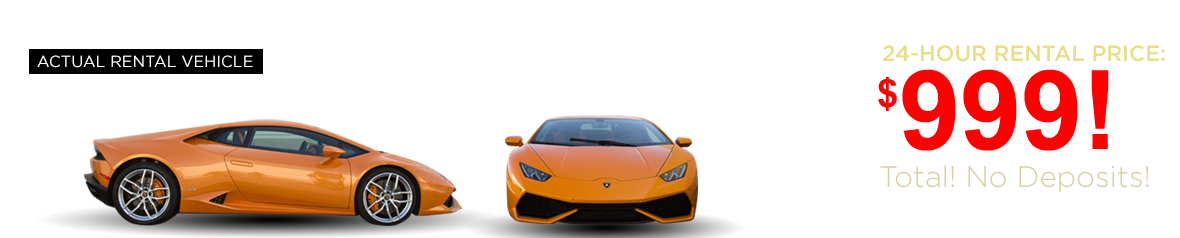 Las Vegas Exotic Car Rental - Lamborghini